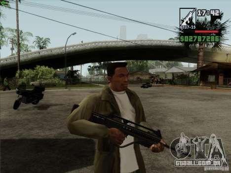 Katiba para GTA San Andreas segunda tela