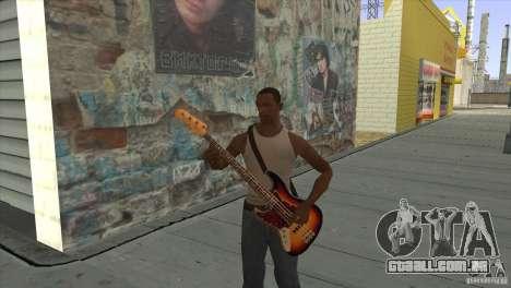 Músicas do filme na guitarra para GTA San Andreas nono tela