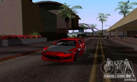 Mazda RX-8 Speed para GTA San Andreas vista direita