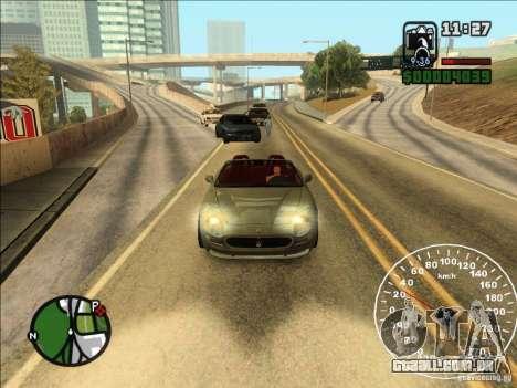 Spyder Cambriocorsa para GTA San Andreas traseira esquerda vista