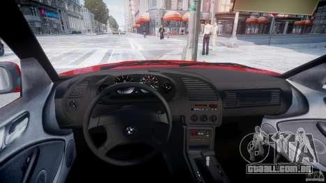 BMW 318i Light Tuning v1.1 para GTA 4 vista de volta