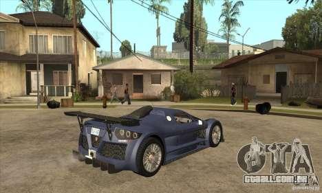 Gumpert Apollo Sport para GTA San Andreas vista direita