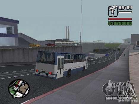 Ikarus 260.27 para GTA San Andreas vista traseira