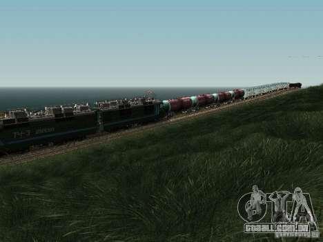 Vl80s-2532 para GTA San Andreas vista interior