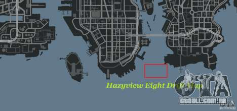 Hazyview Eight Drift Map para GTA 4 sexto tela