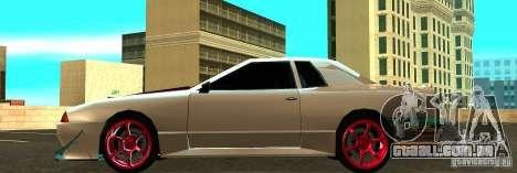 Elegy Drift Masters Final para GTA San Andreas esquerda vista