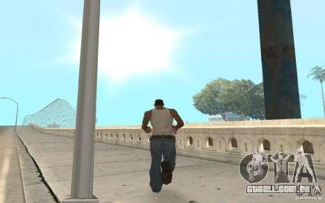 The best effects from GTA IV para GTA San Andreas segunda tela