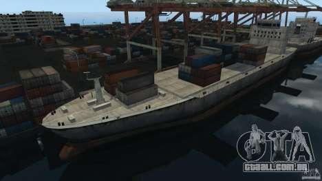 Tokyo Docks Drift para GTA 4 por diante tela