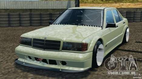 Esporte de Mercedes-Benz 190E 2.3-16 para GTA 4