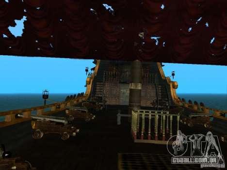 Queen Annes Revenge para GTA San Andreas vista direita
