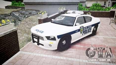 FIB Buffalo NYPD Police para GTA 4 vista de volta