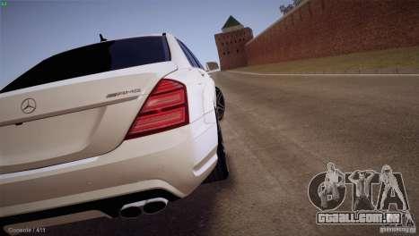Mercedes-Benz S65 AMG para GTA San Andreas vista direita