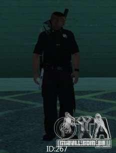 Novas skins polícia de San Angeles para GTA San Andreas por diante tela