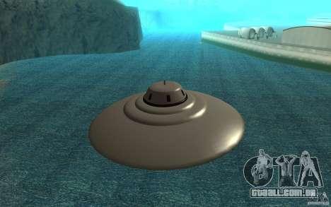 Bob Lazar Ufo para GTA San Andreas