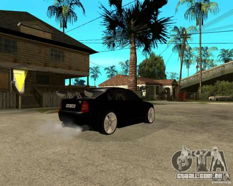 Skoda Superb HARD GT Tuning para GTA San Andreas vista traseira