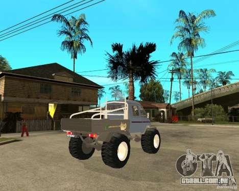 GÁS KeržaK (Swamp Buggy) para GTA San Andreas traseira esquerda vista