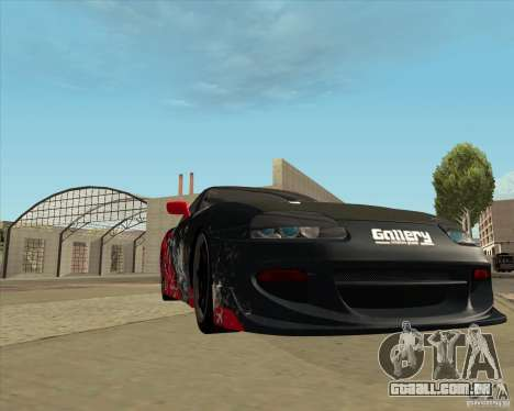 Toyota Supra by Cyborg ProductionS para vista lateral GTA San Andreas