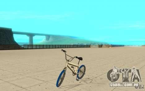 Zeros BMX BLUE tires para GTA San Andreas