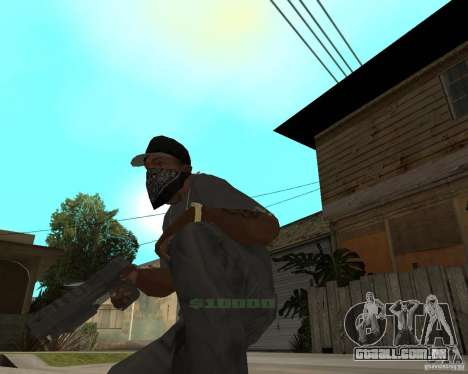Desert Eagle de CoD: MW2 para GTA San Andreas segunda tela