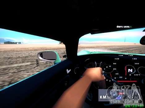 Pontiac Solstice Falken Tire para GTA San Andreas vista superior
