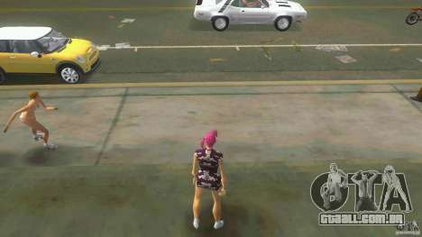 Girl Player mit 11skins para GTA Vice City segunda tela