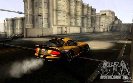Dodge Viper GTS Coupe TT Black Revel para GTA San Andreas vista direita