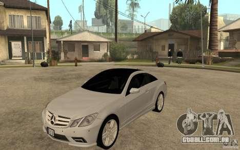 Mercedes Benz E-CLASS Coupe para GTA San Andreas