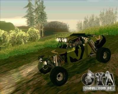 Ickler Jimco Buggy para GTA San Andreas vista traseira