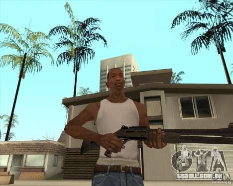 Espingarda automática para GTA San Andreas terceira tela