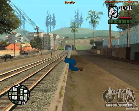 Pele Tracer para GTA San Andreas segunda tela