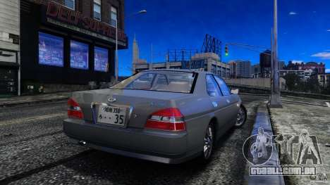 Nissan Laurel GC35 para GTA 4 esquerda vista