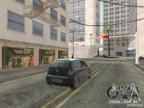 Volkswagen Fox 2011 para GTA San Andreas esquerda vista