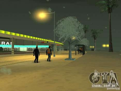 Neve v 2.0 para GTA San Andreas quinto tela