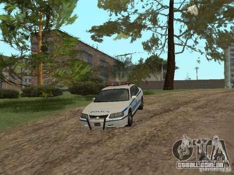 Polícia de GTA 4 para GTA San Andreas