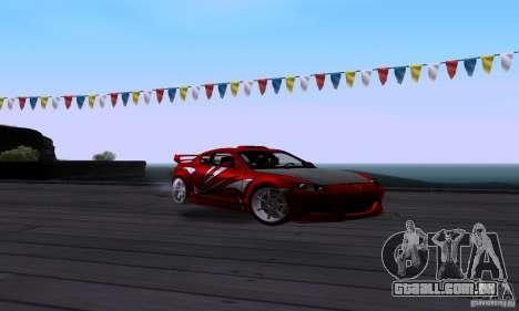 Mazda RX-8 Speed para GTA San Andreas vista traseira