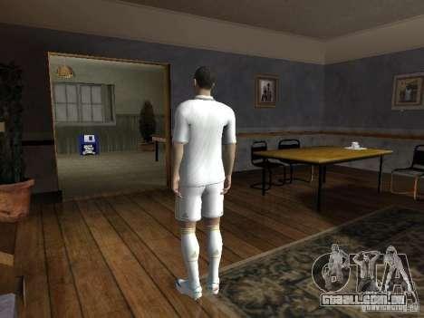 Cristiano Ronaldo para GTA San Andreas segunda tela
