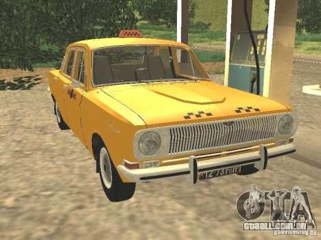 Táxi GAZ 24-01 para GTA San Andreas
