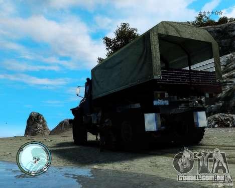 Ural 4320 para GTA 4 vista direita