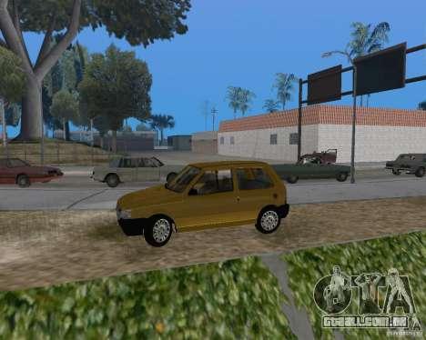 Fiat Mille Fire 1.0 2006 para GTA San Andreas esquerda vista