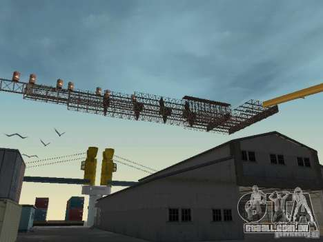 Huge MonsterTruck Track para GTA San Andreas terceira tela