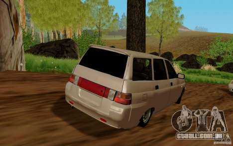 VAZ 2111 para GTA San Andreas esquerda vista