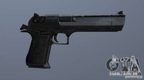 Desert Eagle - New model para GTA San Andreas por diante tela