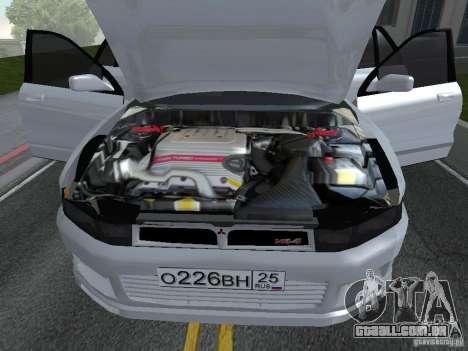 Mitsubishi Legnum para GTA San Andreas traseira esquerda vista