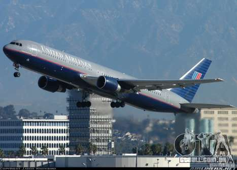 Boeing 767 de telas de carregamento para GTA San Andreas sétima tela