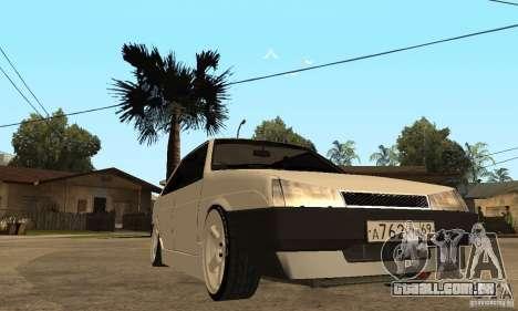 Lada 21099 Light Tuning para GTA San Andreas vista traseira