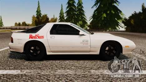 Mazda Savanna RX-7 para GTA 4 esquerda vista