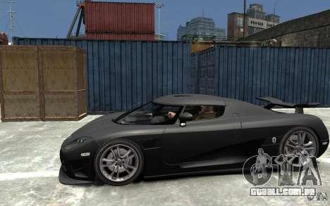 Koenigsegg CCXR Edition V1.0 para GTA 4 esquerda vista