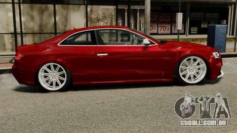 Audi RS5 2012 para GTA 4 esquerda vista