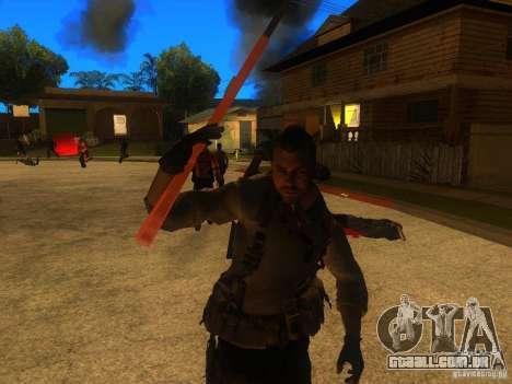 Animation Mod para GTA San Andreas sétima tela
