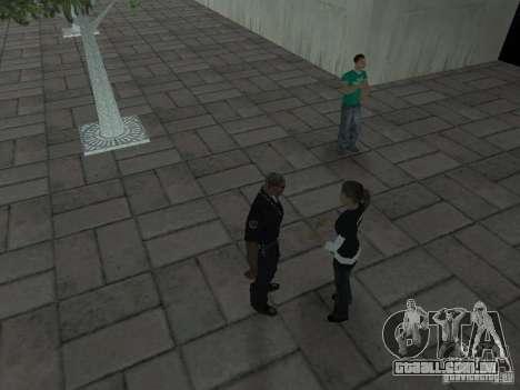 SFnews ou a oportunidade de dar uma entrevista para GTA San Andreas terceira tela